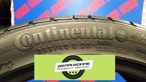 Gomme usate Continental ContiWinterContact 255/40/R20 10V invernali